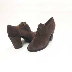 Lucky Ankle Booties Mystique Suede Booties SZ 7